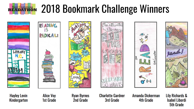Bookmark Winners 2018