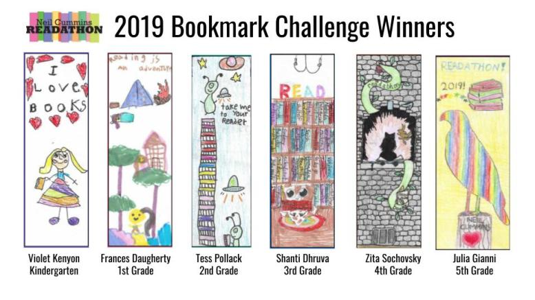 Bookmark Winners 2019