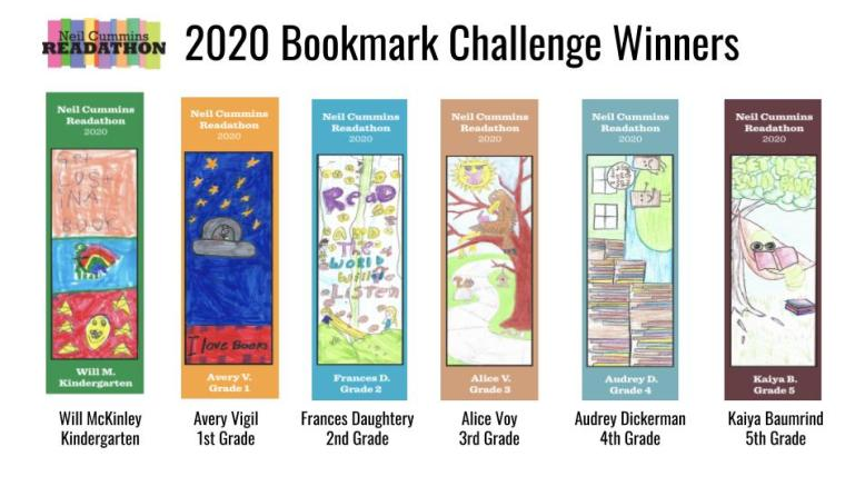 Bookmark Winners 2020