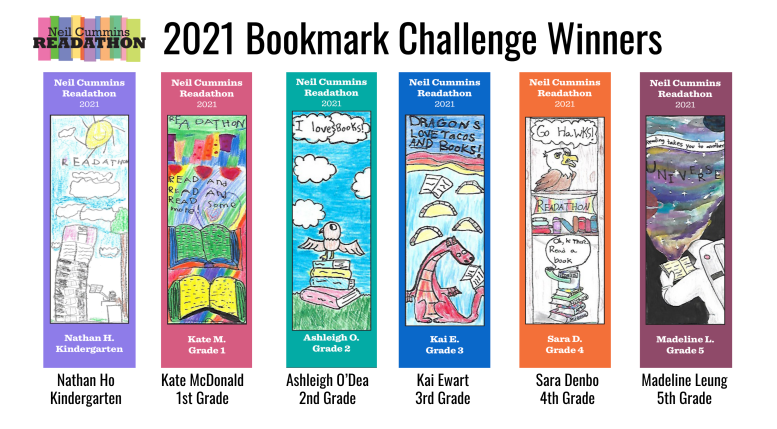 2021 Bookmark Winners